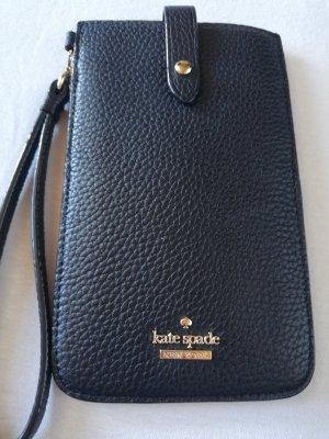 Kate Spade Mobile Phone Case black-camel leather