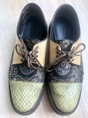 unbekannte Wingtip Shoes multicolored