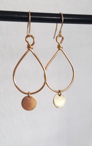 Hand made Gouden oorbellen goud