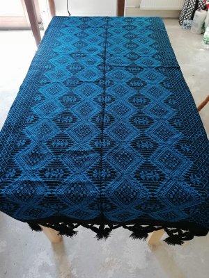 Bufanda con capucha azul claro Algodón