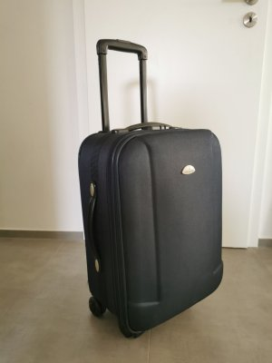 The Cambridge Satchel Company Koffer zwart-donkerblauw Polyester