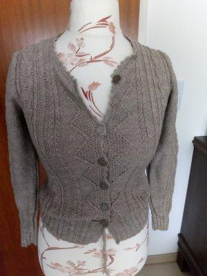 Traditional Jacket grey brown wool