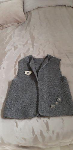 100 Folkloristische jas donkerbruin
