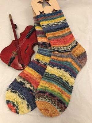 Scaldamuscoli multicolore Lana
