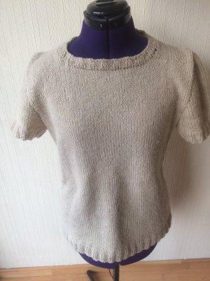 Short Sleeve Sweater oatmeal