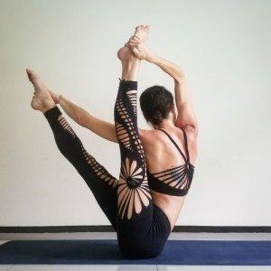 Handmade CutOut Legging DIY Must Have Yoga