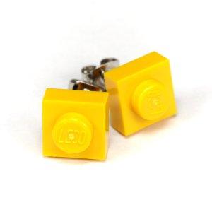Designerstück Ear stud yellow