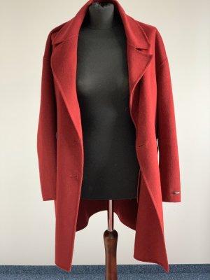 Hallhuber Donna Abrigo de lana multicolor