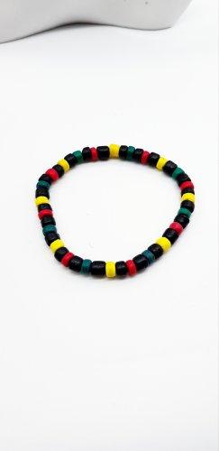 Handmade Holz Perlen Armband