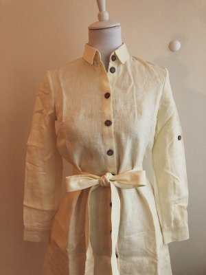 Handmade Summer Dress multicolored linen