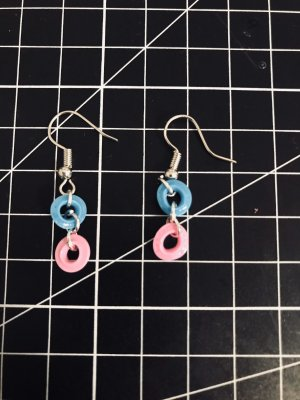 10 Days Silver Earrings multicolored