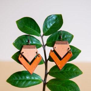 DIY Dangle multicolored leather