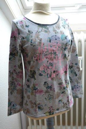 Handmade Pullover Longsleeve Pullover Blumen floral Plott