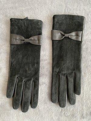 H&M Handschoenen van imitatieleder zwart