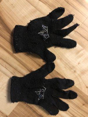 Gant à doigts noir