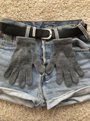 Gloves light grey-grey