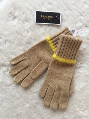 Juicy Couture Knitted Gloves beige