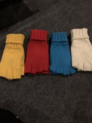 Gloves natural white