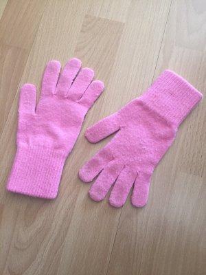 Gloves pink-neon pink