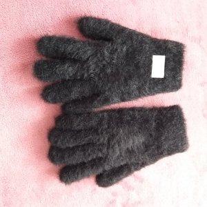 Antonio Gevoerde handschoenen zwart