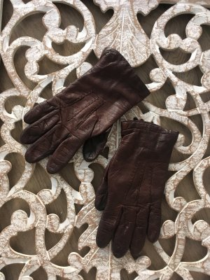 Leather Gloves multicolored leather