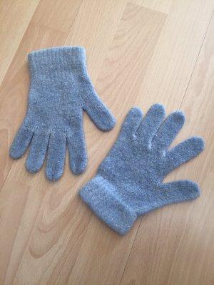 Gloves slate-gray-azure