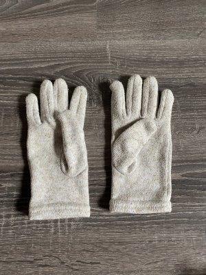 Handschuhe beige nude Creme