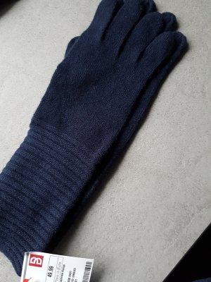 Gloves dark blue