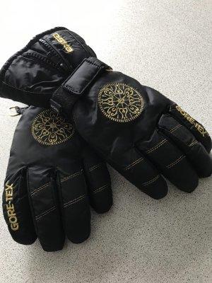 ESKA Gevoerde handschoenen zwart-goud