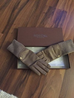 Roeckl Leather Gloves beige
