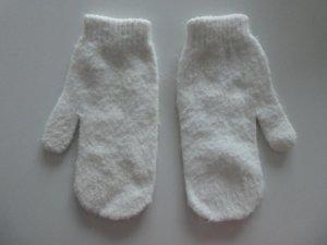 Mittens natural white