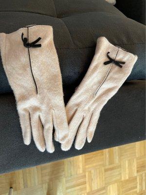 YSTRDY Rękawiczki nude-czarny