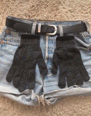 Gloves grey-anthracite