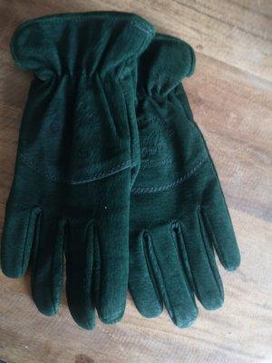 Gant à doigts vert forêt