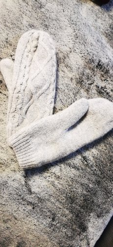 H&M Mittens light grey-grey