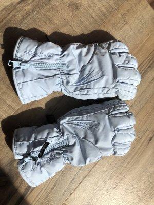 Gevoerde handschoenen lichtblauw