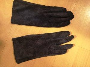 H&M Mitaine bleu cuir