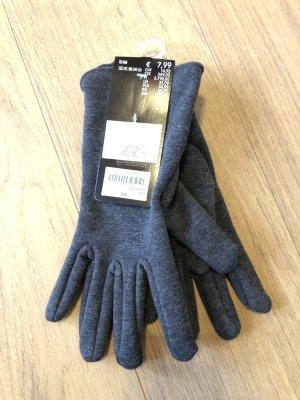 Takko Guantes con dedos gris antracita