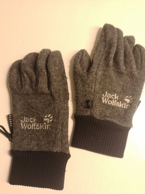 Jack Wolfskin Guantes con dedos negro-gris