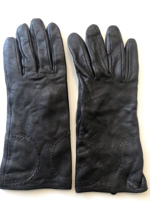 Leather Gloves multicolored
