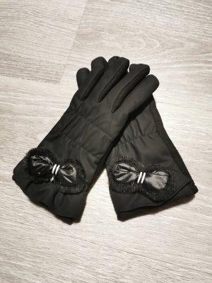 Gants doublés noir