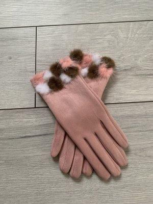 Rękawiczki różowy