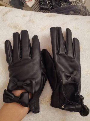Handschuhe mit Schleifen