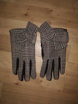 Handschoenen van imitatieleder veelkleurig