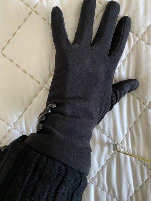 Guanto con dita nero