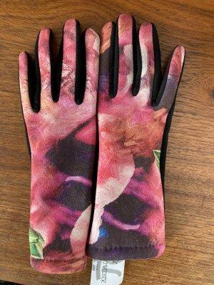 Regina Schrecker Fleece Gloves multicolored