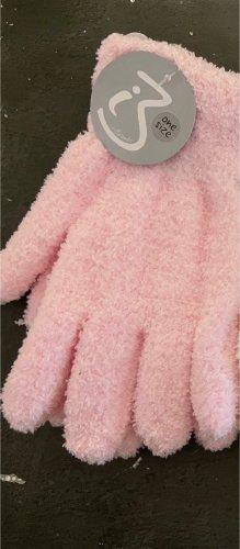 Gloves pink-light pink