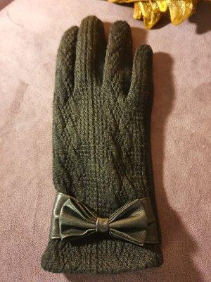 Handschuhe Schleife