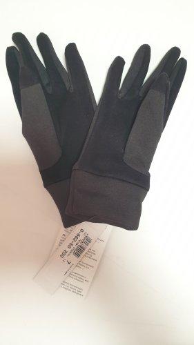 Handschuhe schwarz mit Touchscreen Funktion für Smartphones