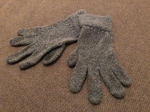 Gebreide handschoenen grijs